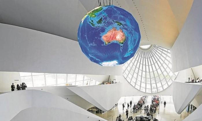 Museu do Amanhã recebe certificação máxima em sustentabilidade