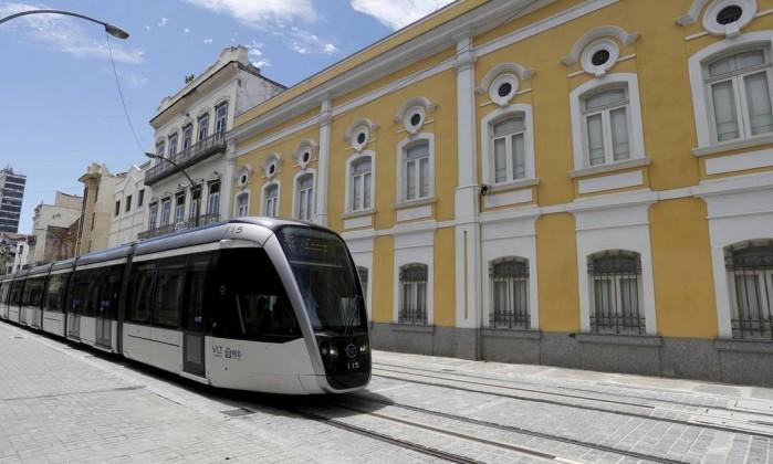 VLT ganha hoje segunda linha, que liga Praça Quinze à região da Saara