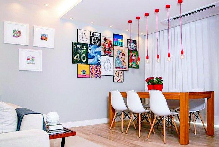 Confira algumas dicas para compor uma galeria de arte em casa